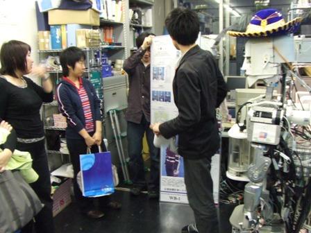 2006-05-26: JSME ROBOMEC2006: Takanishi Lab Tour (4)